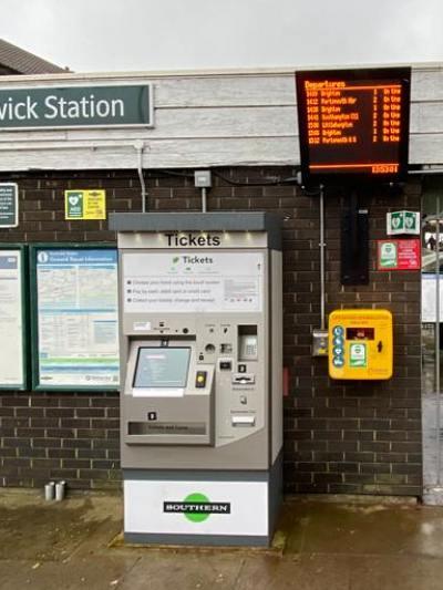 Southwick Station Install