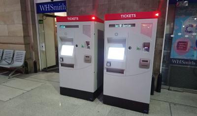 Ticket Vending Machines x 2